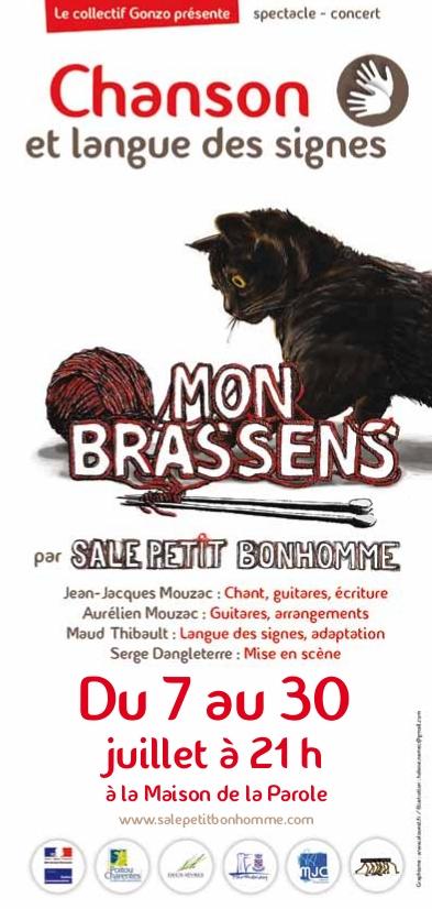 Flyer Mon Brassens