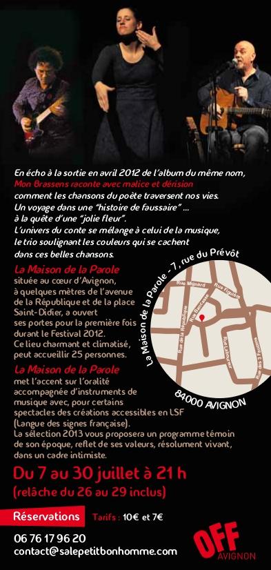 Flyer Mon Brassens (2)